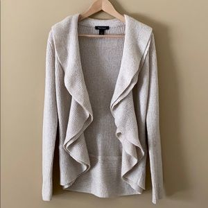 WHBM Gold Shimmer Sweater